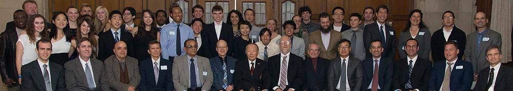 50th anniversary banquet reunion of the University of Michigan Taekwondo Club in 2014